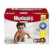 Huggies Snug & Dry Diapers Size 3 222 Count (One Month Supply)