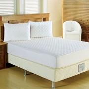 Protetor de Colchão King Sleep Microfibra Branco Casaborda