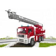 BRUDER® Brandweerwagen MAN met draaibare ladder