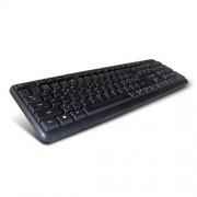 Klávesnica C-TECH CZ/SK KB-102 PS2 slim black