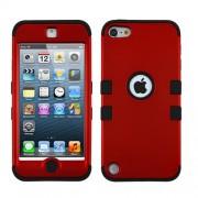 Funda Protector Triple Layer Apple Ipod Touch 5G / 6G Rojo Titanium / Negro