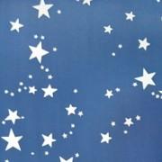 Creativity Backgrounds Star PTRN - fundal carton car size 2.08x11m, model stele, albastru