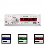 Auna MD-120.2WH Auto-Rádio USB SD MP3 4x75 W máx. Line-Out