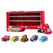 Cars Micro Drifters Mack Display Case Vehicle Playset by Mattel