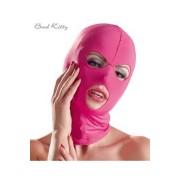 Roze maska za lice sa tri otvora BADKIT0071