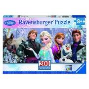 Frozen - Puzzles 200 piezas XXL, diseño Panorama (Ravensburger 12801 3)