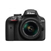 Nikon D3400 24.2 MP Digital SLR Camera (Black) with AF-P DX NIKKOR 18-55mm f/3.5-5.6G VR Lens Kit with 16GB Card and Camera Bag