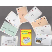 Jeu De 54 Cartes : Vocabulaire Anglais, Niveau 5e : Voyage - Orientation - Nourriture - Environnement - Entourage - Corps Et Habits - Sports Et Activités - Shopping - Temps - Ecole.