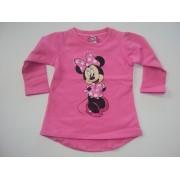 Disney Minnie bolyhos hosszú póló- 86-os - UTOLSÓ DARAB