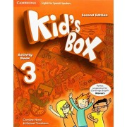 Caroline Nixon Kid's Box for Spanish Speakers Level 3 Activity Book with CD ROM and My Home Booklet 2nd Edition