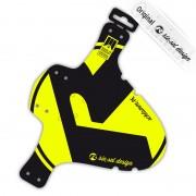 rie:sel design schlamm:PE Parafango Bright yellow label giallo/nero Parafanghi anteriori