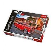 Trefl Chevrolet Bel Air in Cuba Jigsaw Puzzle (1000-Piece)