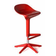 Replica Spoon Bar Stool - Red