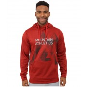 The North Face MA Graphic Surgent Hoodie Pompeian Red HeatherAsphalt Grey