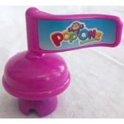 Mattel Fisher Price Pop Onz Pop N Stack Blocks, Pop Onz Barnyard Blocks Pop Onz Building System Jungle Block Bucket, Purple Sign Replacement Figure Toy