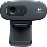 Logitech C270 HD Webcam - 3MP Still Images, HD