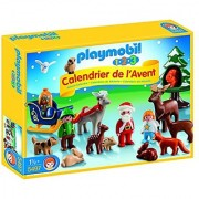 PLAYMOBIL 1.2.3 Advent Calendar Christmas in the Forest Set