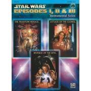 Star Wars Episodes I, II & III Instrumental Solos, Level 2-3 by John Williams