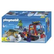 Playmobil 3191 Les Véhicules De Transport De Dinosaure
