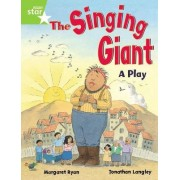 Rigby Star Guided 1 Green Level: The Singing Giant, Play, Pupil Book (Single) by Margaret Ryan