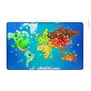 Harta pliabila - Animale din toata lumea - Janod (J02889)