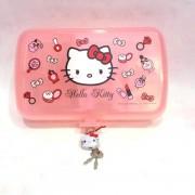 Cutie plastic bijuterii Hello Kitty