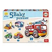 "Educa Borras 14866 ""Baby Vehicles"" Puzzle"