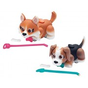 Pet Parade Corgi And Beagle Puppy Toy (Pack Of 2)