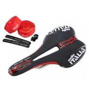 Selle Italia SLR Team Edition Sella Set rosso/nero Selle biciclette da corsa