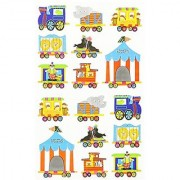 Mrs. Grossman's Stickers-Circus Train