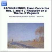 S. Rachmaninov - Piano Concertos No.1&4 (0636943447727) (1 CD)