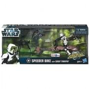 Star Wars Speeder Biker with Scout Trooper Toys R Us Exclusive 2012