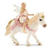 Figurina Schleich - Elf Crin. Calarind Pe Ponei - 70501