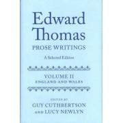 Edward Thomas: England and Wales v. II by Mr Edward Thomas