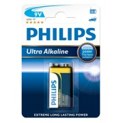 Bateria Ultra Alkaline 6LR61 (9V)