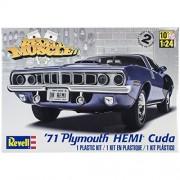 Modello in plastica Kit - 71 Plymouth Hemi ' Cuda Hardtop 01.25