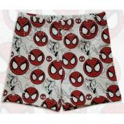 Pókemberes boxeralsó - fehér, piros mintás