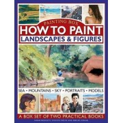 Painting Box: How to Paint Landscapes & Figures by Sarah Hoggett