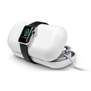 TwelveSouth TimePorter - кейс за аксесоари и поставка с възможност за зареждане за Apple Watch (бял)