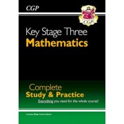 New KS3 Maths Complete Study & Practice (with Online Edition) by CGP Books