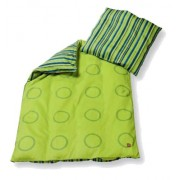 LEGO DUPLO Maxi Duvet and Pillow Case Set (Studs & Stripes, Green)