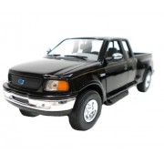 Ford F-150 Flareside Supercab Pickup Truck Black 1/24 by Motormax 73284