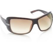 Diesel Wrap-around Sunglasses(Brown)