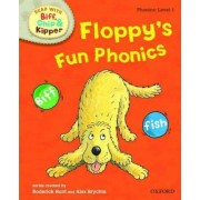 Oxford Reading Tree Read with Biff, Chip, and Kipper: Phonics: Level 1: Floppy's Fun Phonics by Roderick Hunt