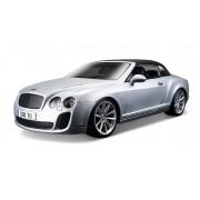 Bentley Continental Supersports Convertible - Argintiu - 1:18