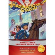 Imagination Station Books 3-Pack: The Redcoats Are Coming! / Captured on the High Seas / Surprise at Yorktown by Focus on the Family