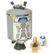 LEGO Star Wars Set #7106 Droid Escape with R2-D2 and C-3PO