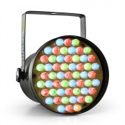 Beamz PAR36 SPOT, 8W, прожектор, 55 х 10 мм, LED DMX RGB (Sky-151.148)