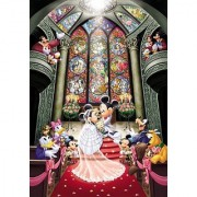 Tenyo Disney Fantasy Celebration Minnie & Mickey Wedding Jigsaw Puzzle (1000 Piece)