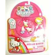Squinkies Hello Kitty Share N Wear Bracelets and Ring Pack - Spring Garden